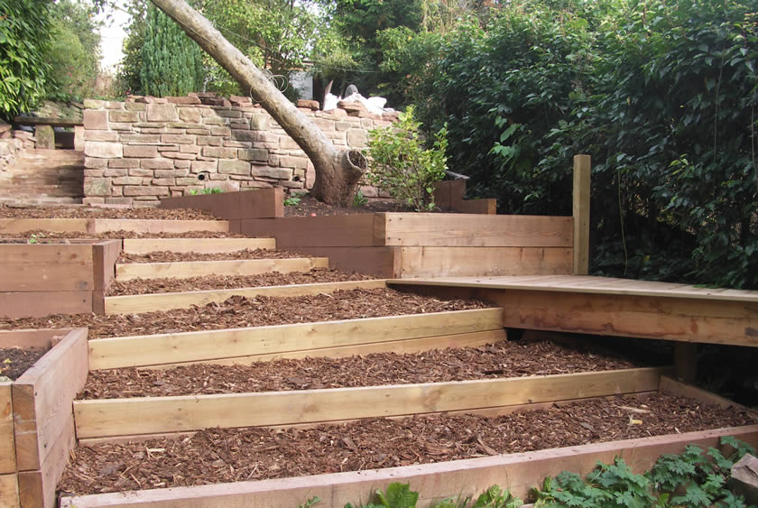 Problem Steep Sloping Garden, Ross On Wye